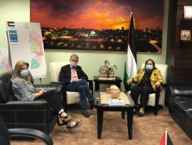 خريطة صفقة القرن هي خريطة فلسطين التاريخية من وجهة نظر وزيرة الصحة !!