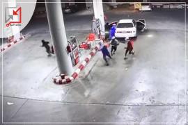 مجهولون يسرقون محطة صانور للمحروقات في جنين