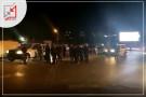 شجار بين ابن القيادي في جهاز الأمن الوقائي صابر الطميزي والقيادي في حركة فتح شادي أبو القرع يتسبب في إغلاق مفرق بيرزيت أمام  المواطنين