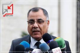 إبراهيم ملحم يشارك في الوقفة التضامنية مع الصحفي/ إياد حمد أمام مجلس الوزراء بعد فصله من عمله