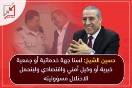 حسين الشيخ يناقض نفسه