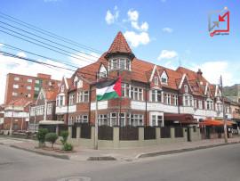 صورة لسفارة فلسطين في كولومبيا بنيت من ميزانية السلطة بمبالغ ضخمة