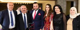 حفل خطوبة ابن جبريل الرجوب دون اتخاذ اجراءات الوقاية