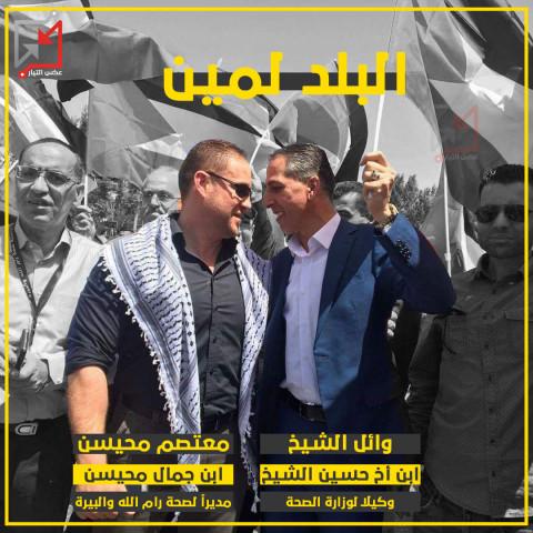 ترقيات لوائل الشيخ ومعتصم محيسن وهنا عواد