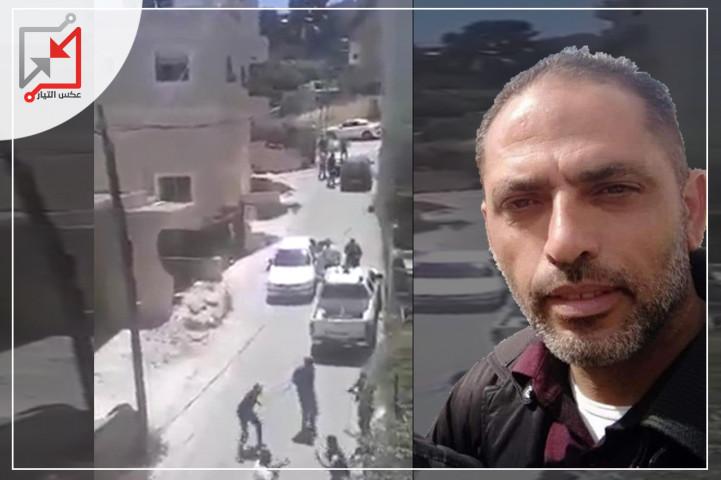 بعد تكبيلهم الأجهزة الأمنية أطلقت النار على الشاب علاء العموري وأخوته