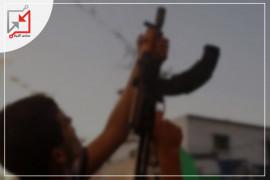 العسكري/ محمد ناصر أبو دغيش قام اطلاق النار خلال حفل زفافه في مخيم الفارعة بشكل كثيف أمس