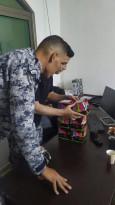 الضابطة الجمركية طيلة البارحة لم تستطع الا ضبط 6 مكعبات ألعاب نارية في نابلس.