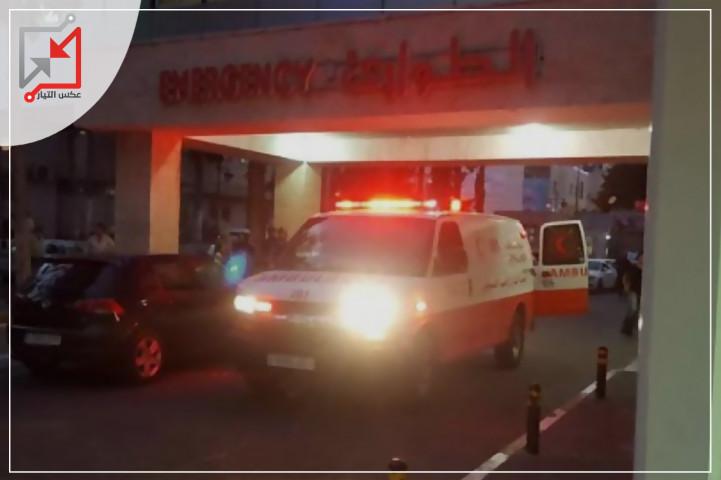 إصابة المواطن أشرف سعيدة بعيار ناري في الرأس من قبل مجهولين في القدس أول امس .