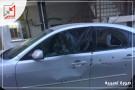 اطلق مجهولون النار على مركبة الدكتور/ شاهر علي منصور في سلفيت
