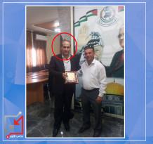 ضابط في الأجهزة الأمنية/ وائل عبد الله عليان باطلاق النار من سلاحه ابتهاجا بنجاح ابنته