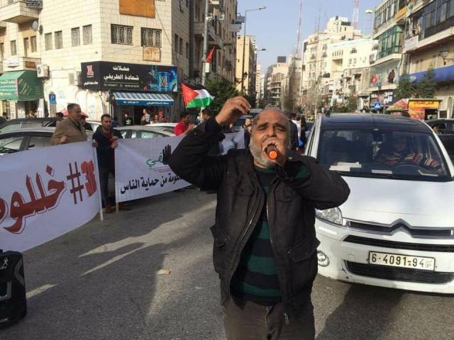 تدهور صحة الناشط جهاد عبدو منسق حراك بكفي يا شركات الاتصالات