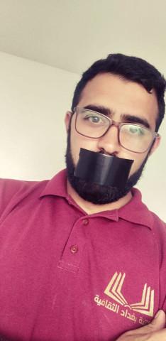 الناشط الحراكي موسى معلا يطلق دعوة بوضع شريط أسود على الفم