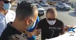 الأجهزة الأمنية اعتقالت الناشط أسامة درويش بعد وقفة طالب فيها بوقف الاغلاق