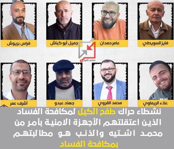 أكثر من عشرين ناشط بمكافحة الفساد في سجون الأجهزة الأمنية واشتيه يشيد بجهود مكافحة الفساد