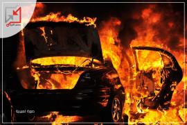 مجهولون يحرقون سيارة المواطن اياد مسالمة في بيت لحم