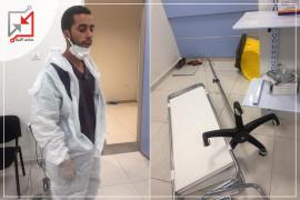 اعتداء على الاطباء والممرضين وتكسير معدات طبية في  مستشفى دورا