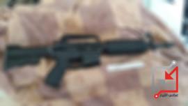 اطلاق النار على منزل المواطن/ احمد ابتلي من حي النقار
