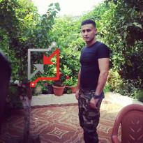 محمد دراغمة (الليبي) يحتاز على العديد من قطع السلاح