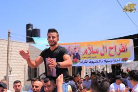 اطلاق نار في حفل زفاف العسكري في جهاز الأمن الوقائي/ أمجد سلام سلام عبد الرحمن سلام