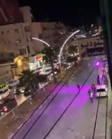 مسلحون يطلقون النار على أحد المحلات في منطقة رأس الجورة في الخليل الليلة الماضية
