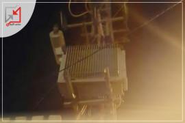 مجهولون يطلقون النار على محول الكهرباء في جنين .