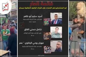 قائمة العار .. أبرز المشاركين في الإعتداء على الحراك الرافض لإتفاقية سيداو