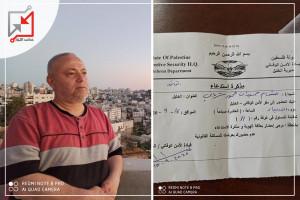 استدعاء الامن الوقائي للكاتب/ هشام الشرباتي هو استمرار للعقلية القمعية للاجهزة الامنية