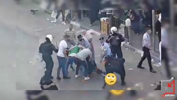 الإعتداء على المحنجين على قانون سيداو في رام الله