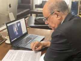 سفير فلسطين في فرنسا سلمان الهرفي يبلغ 80 عاما