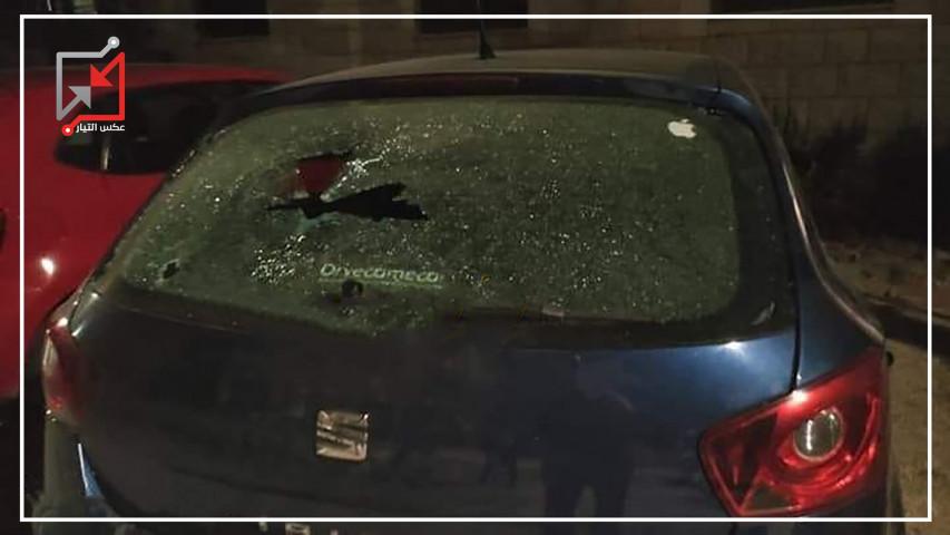 مسلحون يطلقون النار ليلة أمس على سيارة مواطن في طولكرم