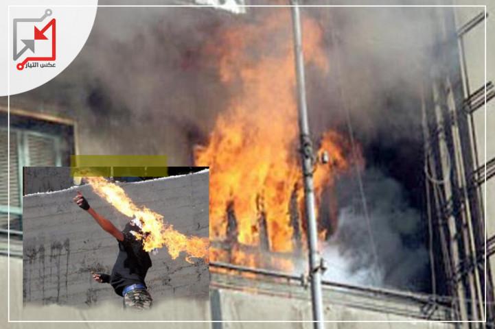 ألقى مجهولون أكوع متفجرة على منزل المواطن/ عبد الحكيم أحمد الوادي في محافظة نابلس
