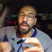 الناشط عامر حمدان معلقاً على ما جرى من تقييد لعناصر الضابطة الجمركية من قبل الاحتلال