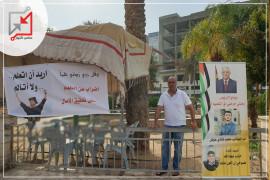 المواطن فادي عوض يعلن الإضراب عن الطعام والاعتصام على دوار أريحا ويناشد الرئيس بمساعدة ابنه