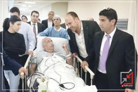 لا تتأخر السلطة عن التنسيق مع الاحتلال من أجل نقل أحد قياداتها للمشافي الاسرائيلية عبر إسعاف إسرائيلي