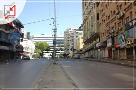وقفة احتجاجية لطلاب من جامعة النجاح بسبب عدم حضور موظفي البلدية