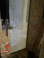 اطلاق النار للمرة الثانية على منزل المواطن/ جورج اسعيد في بيت ساحور