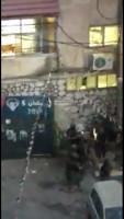 الاقتحامات والتخريب مستمر في مخيم الامعري من قبل الأجهزة الأمنية