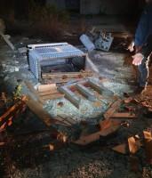 أقدم مجهولون بالاعتداء على محول في منطقة النبي صالح لسرقة نحاس المحول