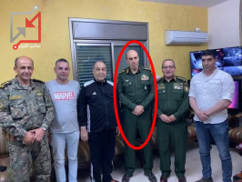 نضال ابو دخان في غضون ست سنوات وصل من ضابط متوسط برتبة رائد إلى لواء