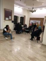 استمرار اعتصام ذوي الاحتياجات الخاصة  داخل المجلس التشريعي