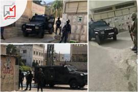 الاجهزة الامنية تحاصر مخيم بلاطة وتقمع المواطنين
