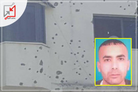 قام مجهولون بإطلاق النارعلى منزل المواطن/ رشيد الشخ يوسف.
