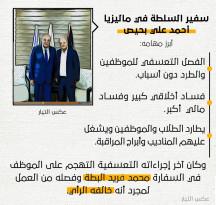 سفير السلطة في ماليزيا أحمد علي بحيص .. رجل المخابرات الفلسطينية في ماليزيا