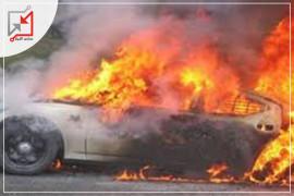 إحراق مجهولون مركبة تعود للمواطن/ ضياء غماش في محافظة طولكرم