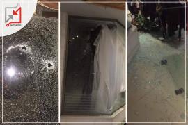 أثار اطلاق النار الذي وقع خلال الاشتباك ليلة أمس في الخليل