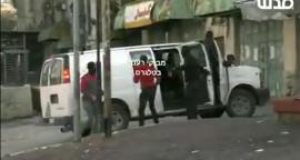الأجهزة الأمنية الفلسطينية بلباس مستعربين يقومون بمنع المواطنين