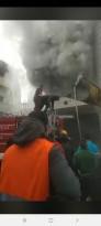 حريق في بيت سيرا غربي رام الله قبل ساعتين من الآن، دون وقوع اصابات