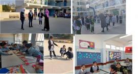 مجهولون يقتحمون مدرسة بنات عقبة جبر الأساسية