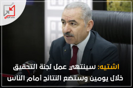 دعونا ننتظر اليومين القادميين مع محمد اشتيه نتائج لجنته