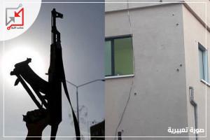 أطلق مجهولون النار على منزل المواطن/ محمد عوفي